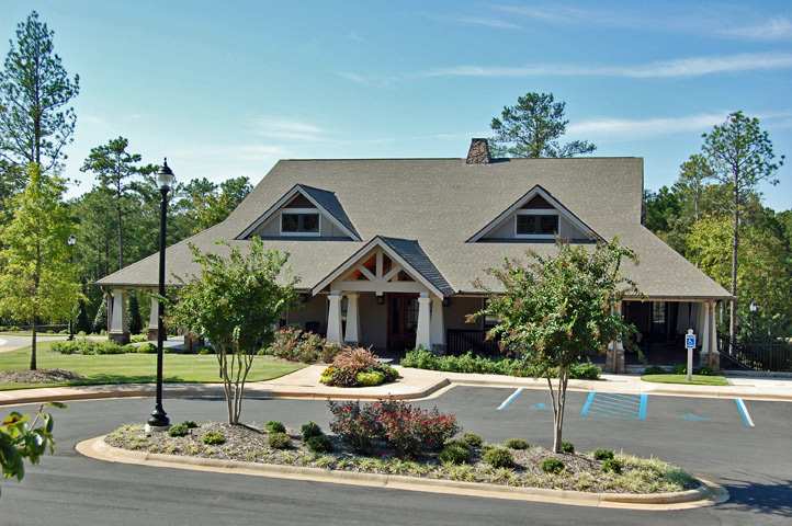 The Ridge clubhouse and pools, Lake Martin